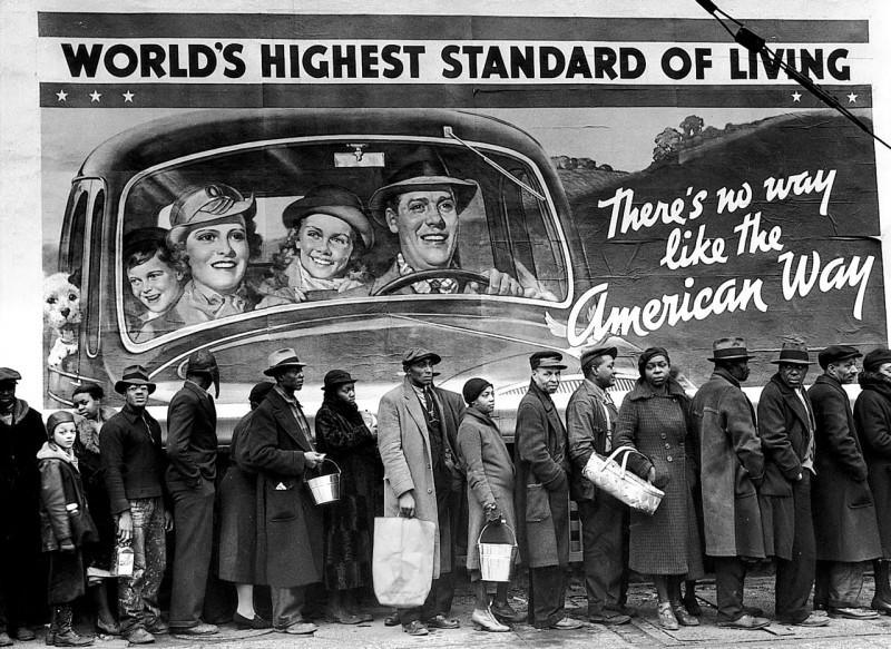 Worlds-highest-standard-of-living-by-Margaret-Bourke-White