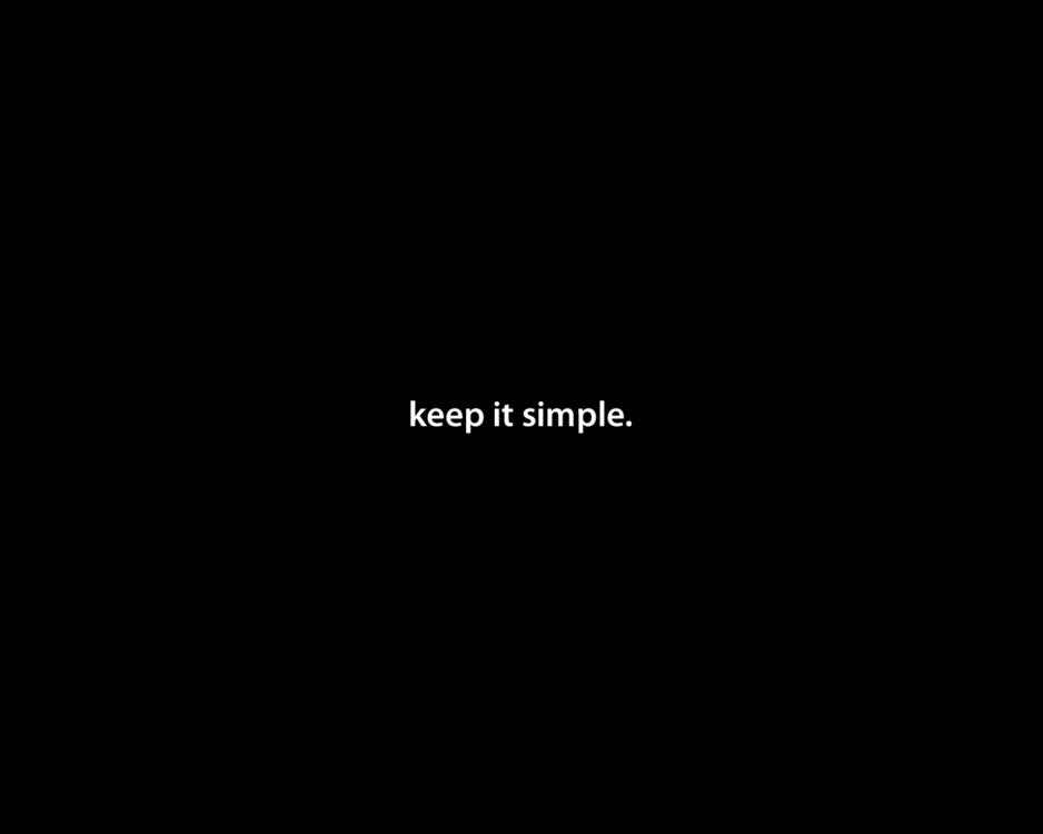 KeepItSimple